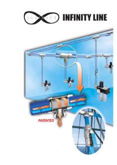 Druckluftnetz, Rohrleitungen, Druckluft, Flex-Air, Druckluftverteilung